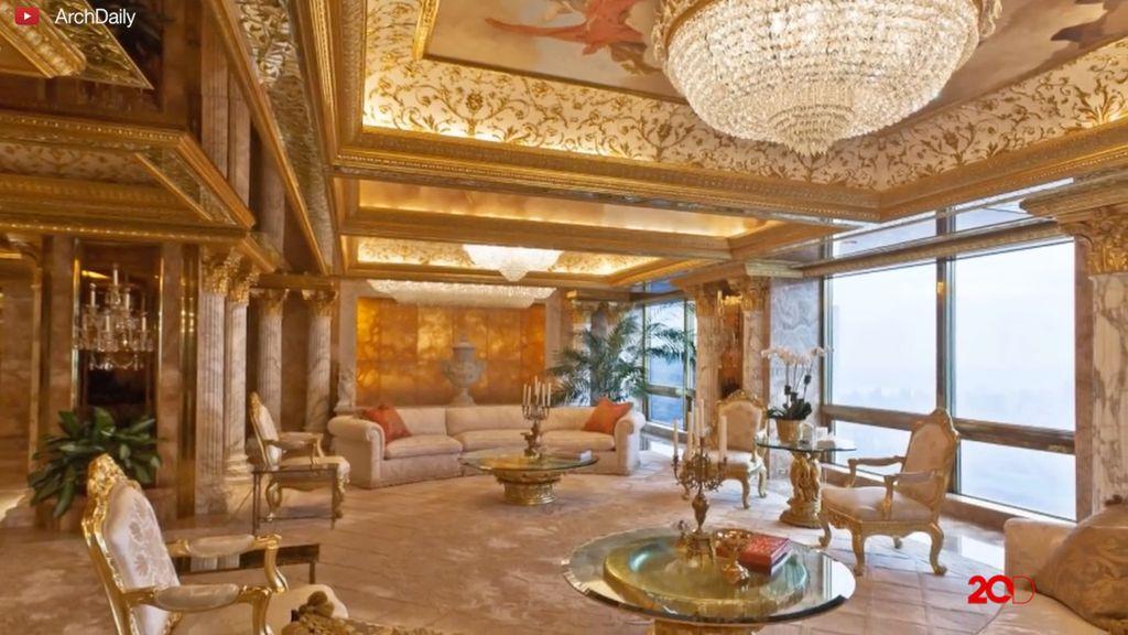 Mengintip Isi Apartemen Donald Trump Presiden Terpilih AS