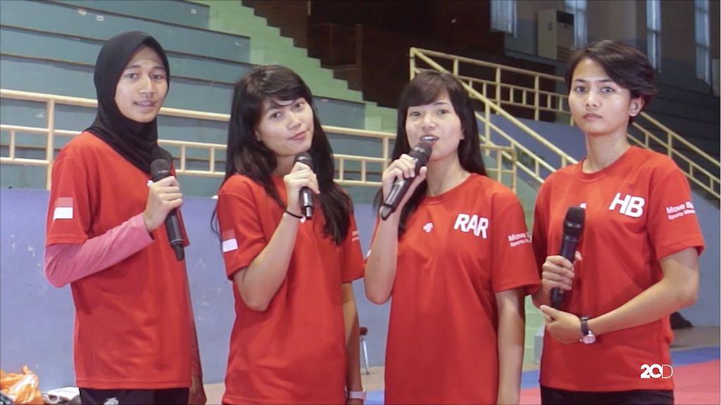 Ngobrol Seru di Livechat Timnas Taekwondo Putri