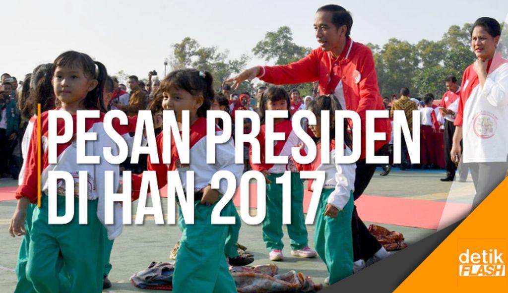 Presiden Jokowi ke Anak-anak Indonesia: Tidak Boleh Membully