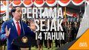 Presiden Jokowi Lantik 728 Calon Perwira Remaja TNI-Polri