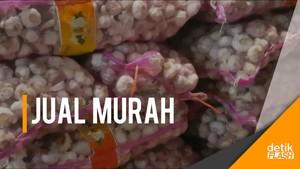 Bawang Putih Dijual 20 Ribu/Kg di Surabaya
