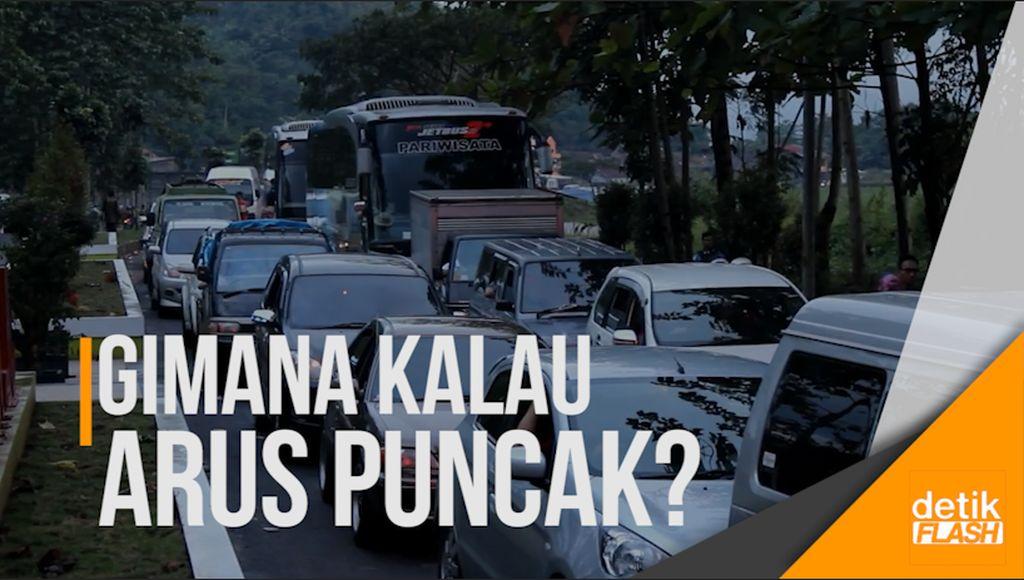 Garut-Bandung via Kadungora-Leles Mampet Puluhan Kilometer