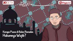 Kenapa muslim harus berpuasa di bulan Ramadan?