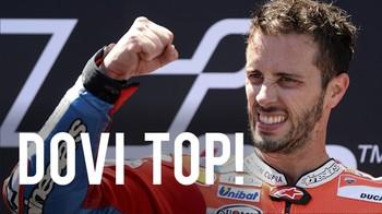 Dovi Menangi Seri Balap Paling Seru di MotoGP