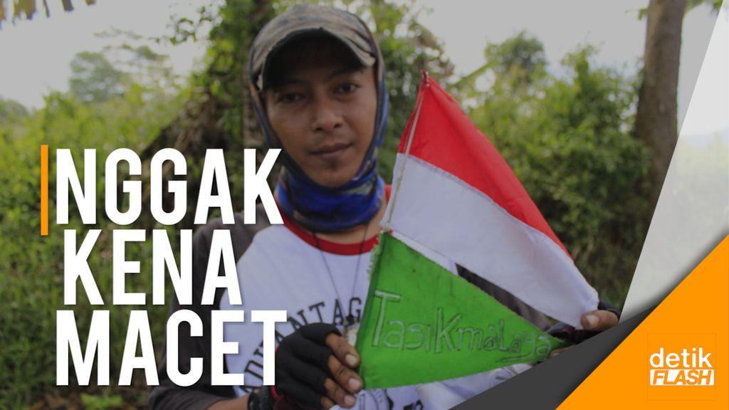Mudik Antiminstream, Kayuh Ontel Jakarta-Tasik