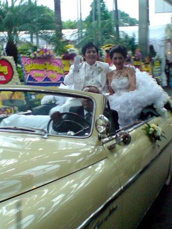 Pernikahan Angel Karamoy