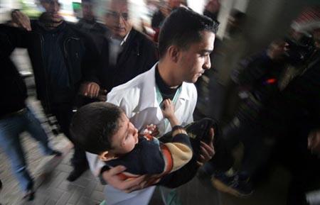 Anak-anak Korban Kekejaman Israel