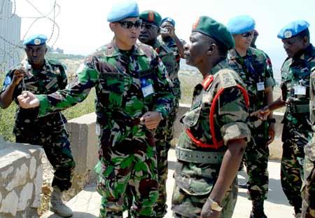 Kasad Tanzania Kunjungi Indobatt