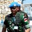 Kepala Staf Angkatan Darat Tanzania, Letnan Jenderal Abdulrahman Amir Simbo didampingi Dansatgas Batalyon Tanzania - Letkol Antony Solomon Moinday diterima oleh Wadan Satgas Letkol Mar Suherlan. (Letkol Arh Hari Mulyanto).