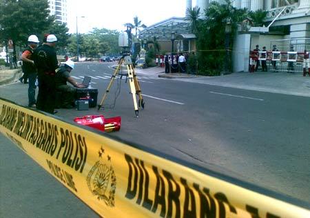 Polri Ukur Dampak Kerusakan Bom