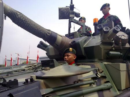 Gladi Bersih HUT TNI