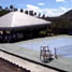 Lapangan tenis di LP Pasir Putih atau penjara Super Maximum Security.
