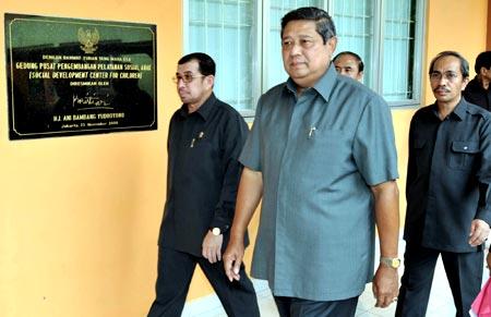 SBY Tinjau PPKS Anak Bambu Apus