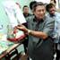 Presiden SBY meninjau unit-unit pelayanan yang ada di PPSK Anak Bambu Apus, Jakarta Timur. Cahyo Bruri Sasmito/Rumgapres.