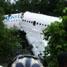 Pesawat Merpati Boeing 737-300 PK MDE mengalami overrun hingga keluar dari runway Bandara Rendani, Manokwari, Papua Barat. Pesawat kemudian tergelincir sejauh 250 meter. (Any Yollanda).