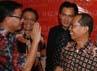 Sejumlah tokoh hadir dalam halal bi halal dan syukuran kemenangan uji materi di MK di kantor Yusril Citra Graha Building lantai 10, Jalan Gatot Soebroto, Jakarta, Rabu (29/9/2010).