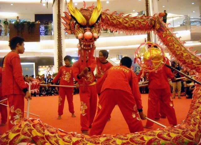 Puncak Acara Kejurnas Liong dan Barongsai 2011