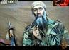 Sebuah rekaman video yang dirilis oleh TV Al-Jazeera yang menampilkan Osama Bin Laden pada 27 Desember 2001 silam. (Photo by Getty Images)