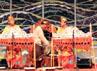 Selain tari, musik dari berbagai daerah di Indonesia juga ditampilkan. (Anggraeni Widiastuti).