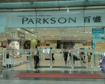 Mengintip Parkson Plaza Sambil Shooting Video