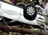 Selain menewaskan ratusan jiwa, tornado juga menghancurkan ratusan rumah, gedung perkantoran dan menyapu mobil. Reuters/Ed Zurga.