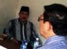 Antasari mengajukan PK karena mencium kasus pembunuhan Nasrudin Zulkarnaen yang menjeratnya penuh rekayasa. Dia membawa bukti baru (novum) untuk memperkuat upaya hukum luar biasanya itu. M Rizki/detikcom.