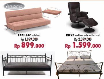 Sofabed Mulai Rp 800 Ribuan di Sale Informa