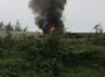 Demontran membakar kendaraan milik perusahaan tambang asal Amerika Serikat itu. Reuters/Muhammad Yamin.