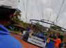 Balon ini menggunakan helium 100% Non Explosive dengan diameter 69 meter persegi.