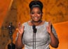 Bintang The Help lainnya Octavia Spencer. memenangkan Outstanding Performance by a Female Actor in a Suppoting Role. Getty Images.