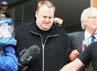 Kim Dotcom dijebloskan ke penjara pada 20 Januari lalu ke penjara Selandia Baru, atas permintaan dari otoritas Amerika Serikat. Dia menghadapi salah satu dugaan pelanggaran hak cipta terbesar di dunia dengan nilai kerugian ditaksir mencapai sekitar USD 500 juta. Sandra Mu/Getty Images.