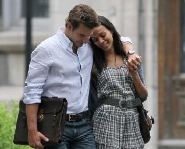 Asmara Bradley Cooper dan Zoe Saldana Dikabarkan Berakhir