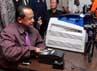 Peluncuran INAFIS Card itu juga dihadiri olej Kepala Badan Reserse Kriminal Komjen Pol Sutarman.