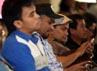 Para musisi yang akan tampil di Jazz Gunung 2012 menghadiri jumpa pers di Menara BCA, Jakarta.