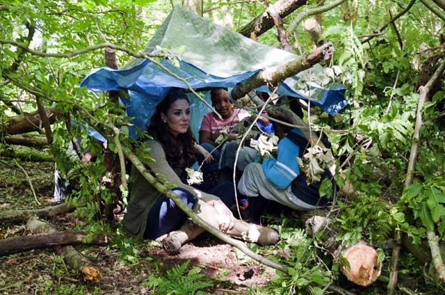Ketika Kate Middleton Ikut Camping