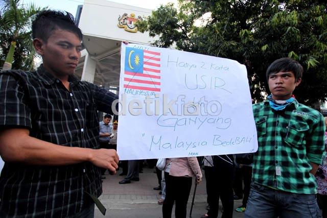 Kedubes Malaysia Didemo Soal Tor-tor