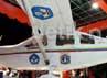 pesawat ini sudah pernah di uji coba terbang sebanyak dua kali.