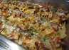 Salah satu menu restoran yang disajikan disini adalah Asian Nachos. Rasanya yang gurih dan lezat sangat cocok dilidah warga Jakarta. (Dyah Oktabriawatie Waluyani/DetikFood)