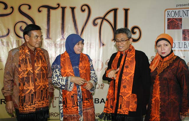 Didik Hadiri Workshop Batik