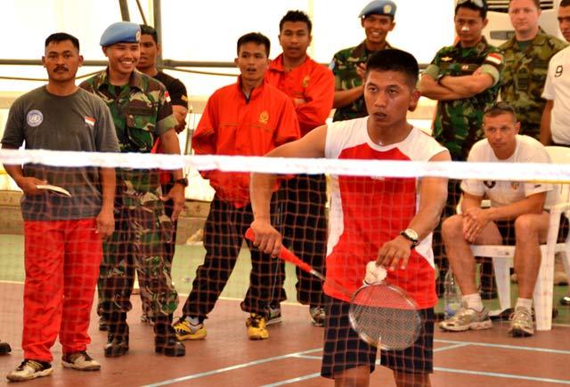 TNI Juara Umum Bulutangkis UNIFIL