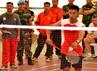 Dalam kejuaraan tersebut, pemain single putra Pratu Erik berhasil mengalahkan tim dari Satgas FHQSU. (Puspen TNI).