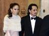 Jennifer Lopez dan Marc Anthony menghadiri pesta pernikahan Tom dan Kate. Robert Evans/Getty Images.