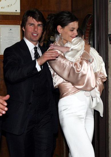 Ini Dia Foto Pernikahan Tom Cruise & Katie Holmes