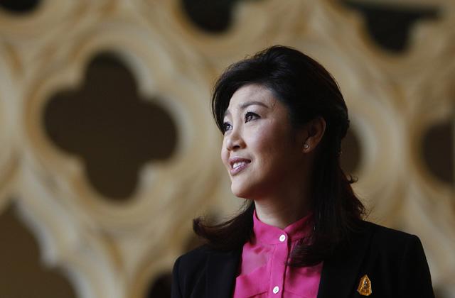 Wow...Cantiknya PM Thailand Yingluck Shinawatra