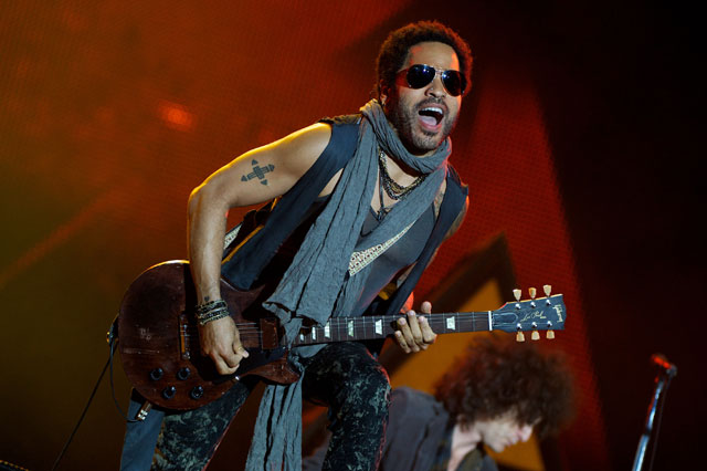 Lenny Kravitz 'Rock in Rio Madrid'