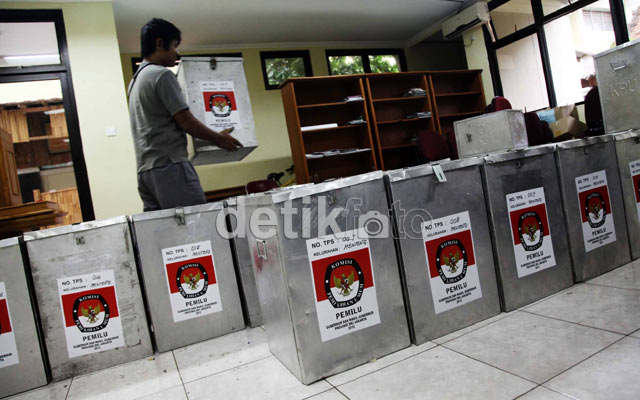 Kartu Pemilih Pilgub DKI Siap Dibagikan