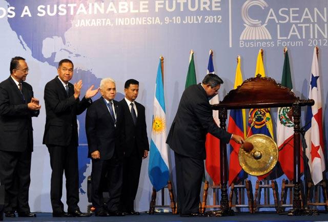 SBY Buka ASEAN-Latin Business Forum