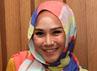 Zaskia berpose saat jumpa pers Ramadhan Istimiwa SCTV di Senayan, Jakarta Pusat, Senin (9/7/2012). Gusmun/detikHot.