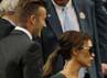 Victoria dan David Beckham datang bersama untuk menyaksikan pertandingan final antara Roger Federer dan Andy Murray. AFP PHOTO/Leon Neal.