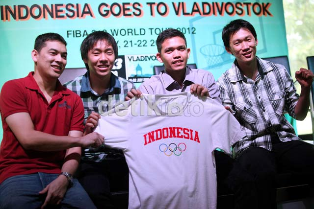 Indonesia Siap Berlaga di FIBA 3 on 3 World Tour 2012